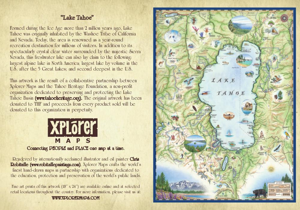 Explorer Maps – Lake Tahoe - Tahoe Heritage Foundation