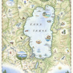 Explorer Maps – Lake Tahoe