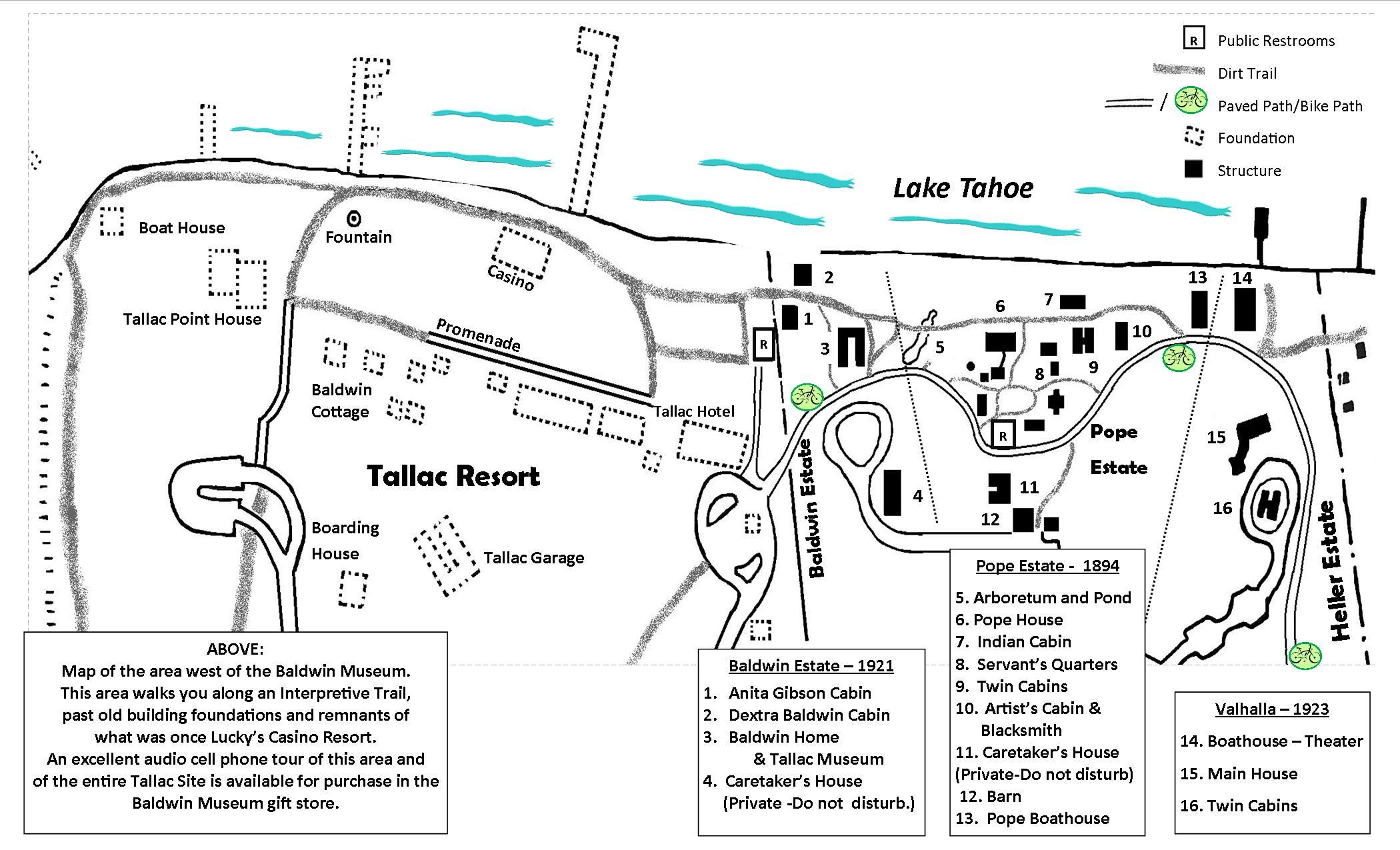 TALLAC Map